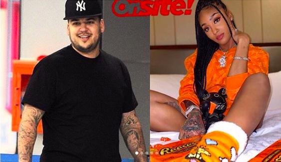 #WordOnTheStreet: Rob Kardashian Rumored to Be Dating Offset's Ex Ayana Charm