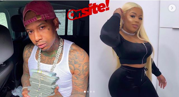 The #ONSITEClique Pulled Receipts On MoneyBaggYo And His BM Whitney White
