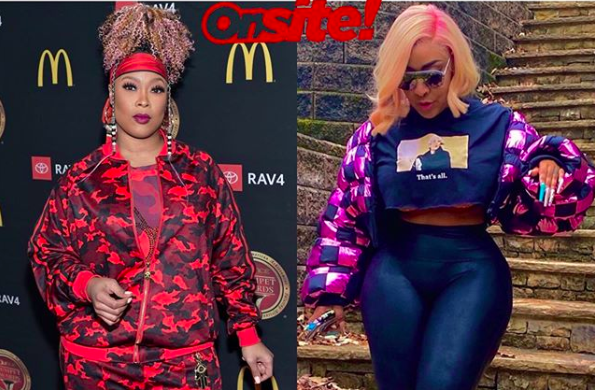 ONSITE EXCLUSIVE: Da Brat and BB Judy Are NOT Engaged