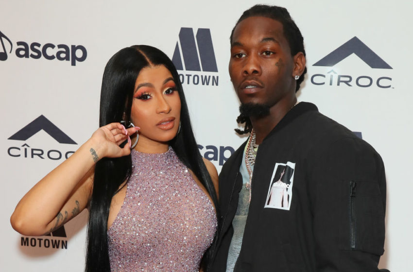 #YouBeTheJudge: Offset Scuffles to Hide His Phone As Cardi B Walks Into The Room
