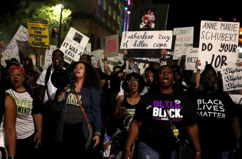 L.A. District Attorney's Husband Pulls Gun On Black Lives Matter Protestors