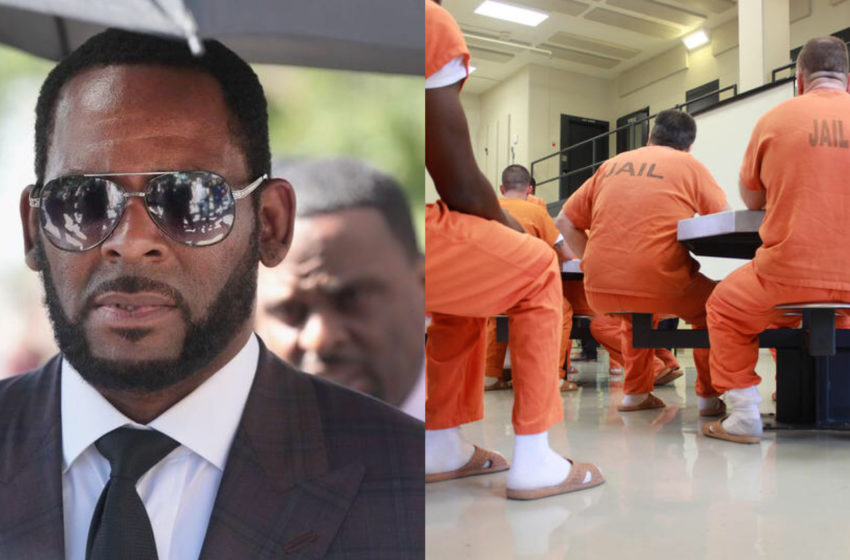Inmate Tests Positive For COVID-19 ON R.Kelly's Prison Floor