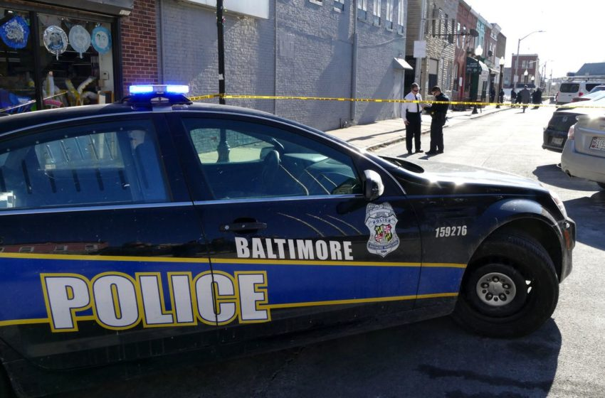 Baltimore Police Officer Caught On Video Purposely Coughing at Local Residents