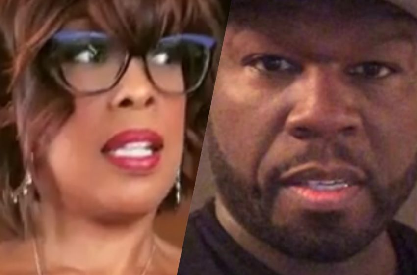 Gayle King Once Pulled Up on 50 Cent For Talking Sh**, 50 Admits To Fake Beefs For Attention