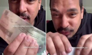 """Man Rips Up Stimulus Check Says He Doesn't Need, He's """"Blessed"""""""