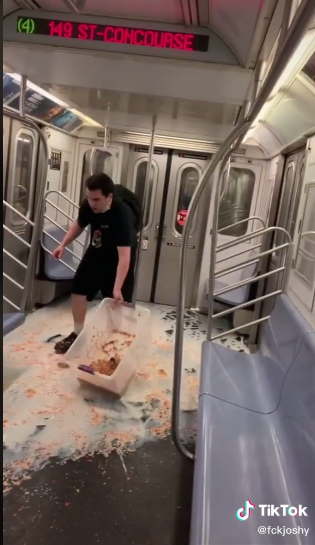 MTA Pissed Over 'Despicable' TikTok Prank On A NYC Subway