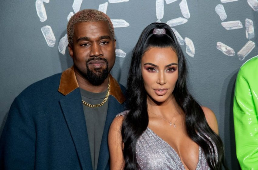 On The Rocks? Kim Kardashian And Kanye West Reportedly Having Issues