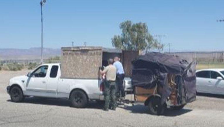 Five Children Found In Crate Attached To Truck With No Water, AC