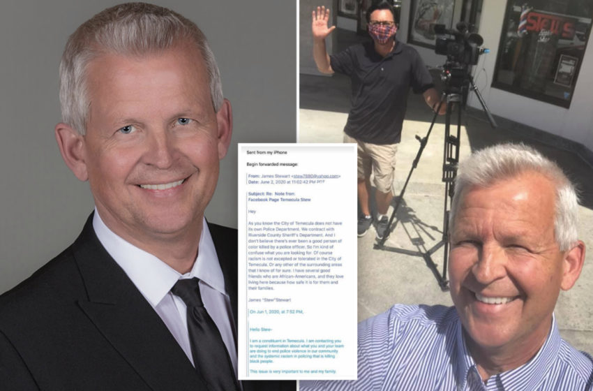 Temecula Mayor Resigns Over Controversial Email Responding To Police Brutality