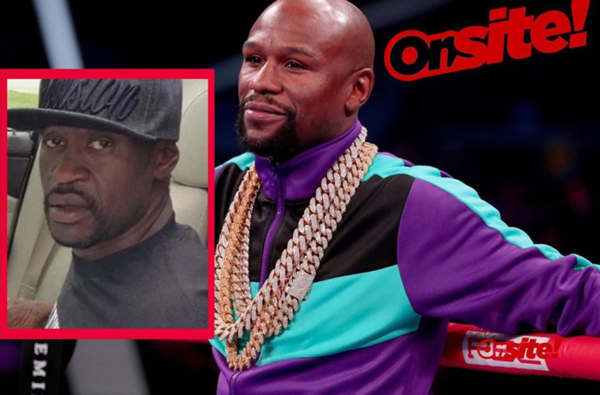 Floyd Mayweather To Cover George Floyd's Funeral Costs In 4 Different Cities, Family Accepts