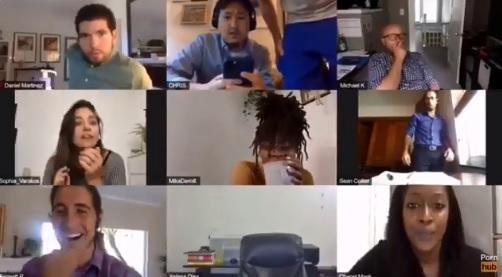 Dirty Daniel: Employee Caught Getting Handsy With Himself During Zoom Conference Meeting