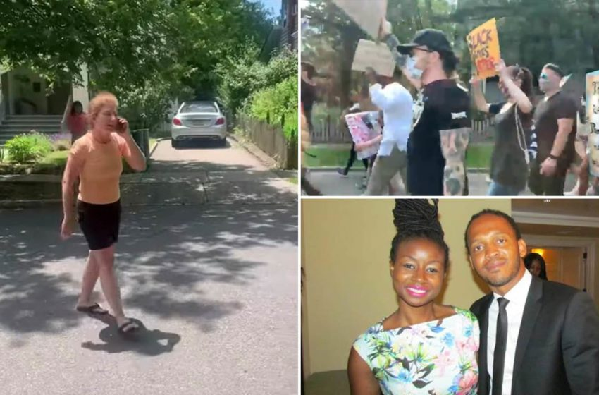"""""""Patio"""" Karen Calls Cops On Black Family Falsely Accusing Them of Assault, Fuels Protests"""