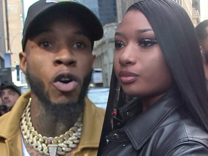 Tory Lanez Arrested On Gun Charge, Meg Thee Stallion In Car