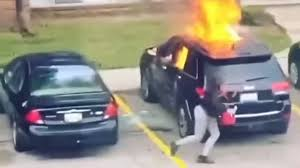 Owner of Viral Jeep Set on Fire Claims Female Suspect Was Never His Girlfriend