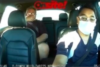 Angered Lyft Passenger Makes Remarks After Being Asked To Wear A Mask