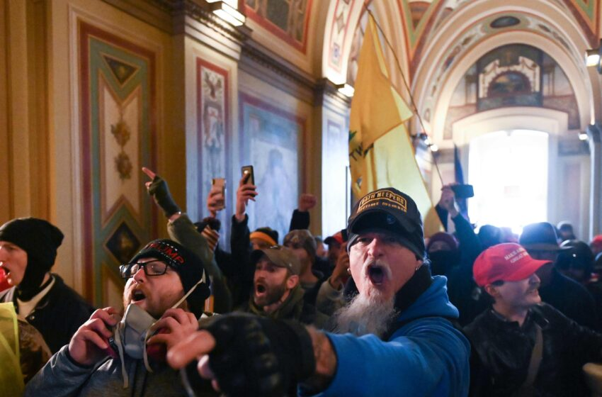 Off-Duty Cops Across The Country Part Of The U.S.Capitol Riots