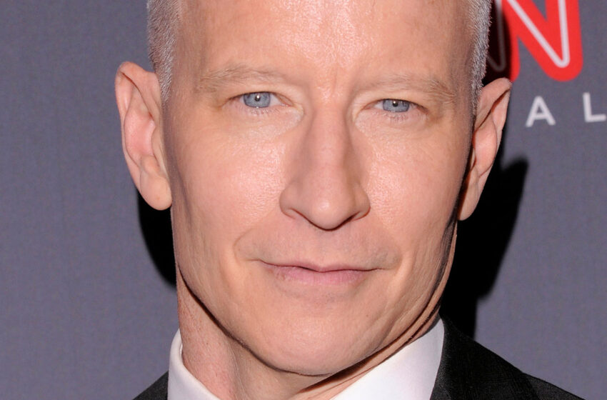 Anderson Cooper Says He Knew He Was Gay At 7 Years Old