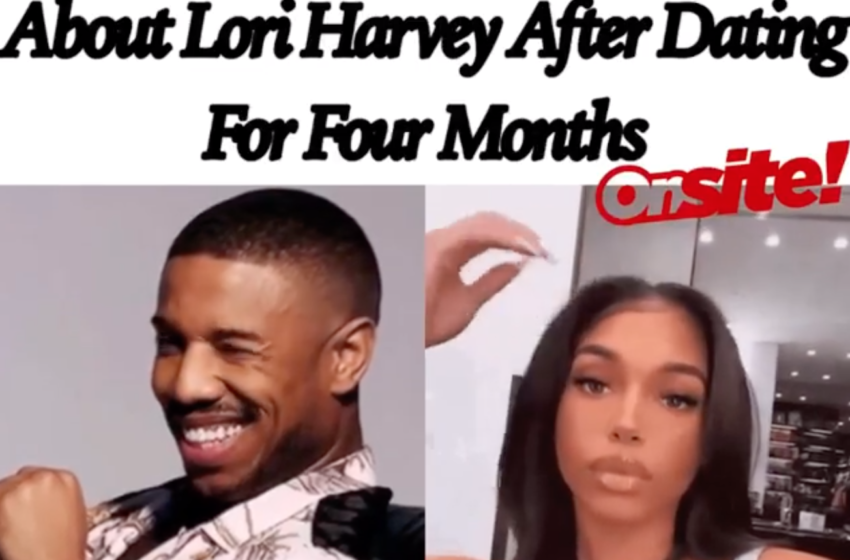 "Michael B. Jordan ""Serious"" About Lori Harvey After Dating For Four Months"