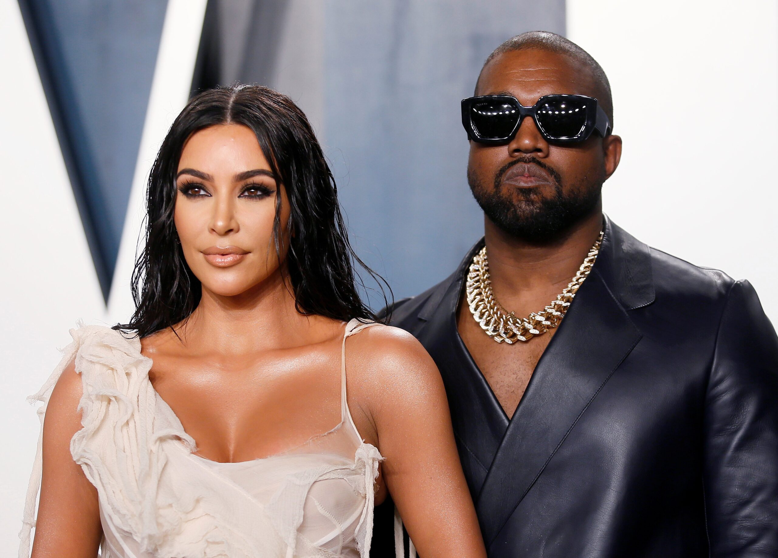 Fans Question Kanye's Absence From Kim's Christmas Pictures