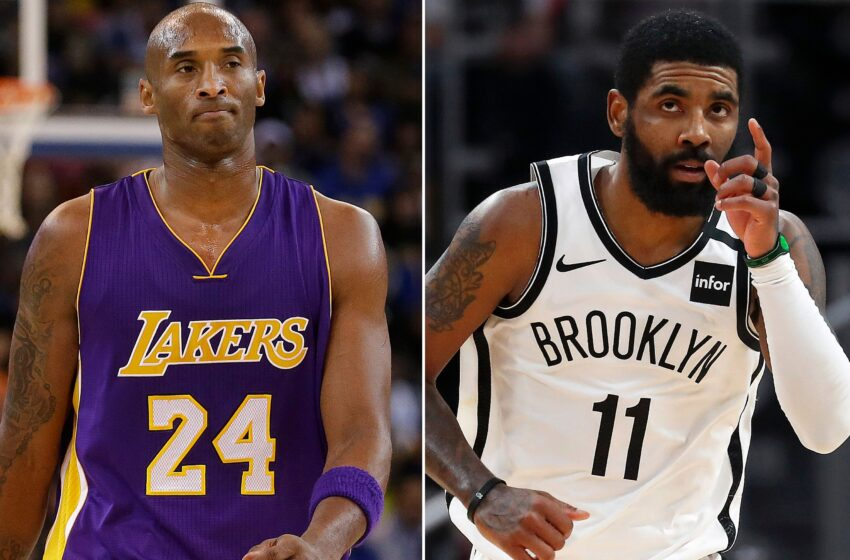 Kyrie Irving Wants NBA To Honor Kobe Bryant By Making Him The League's New Logo