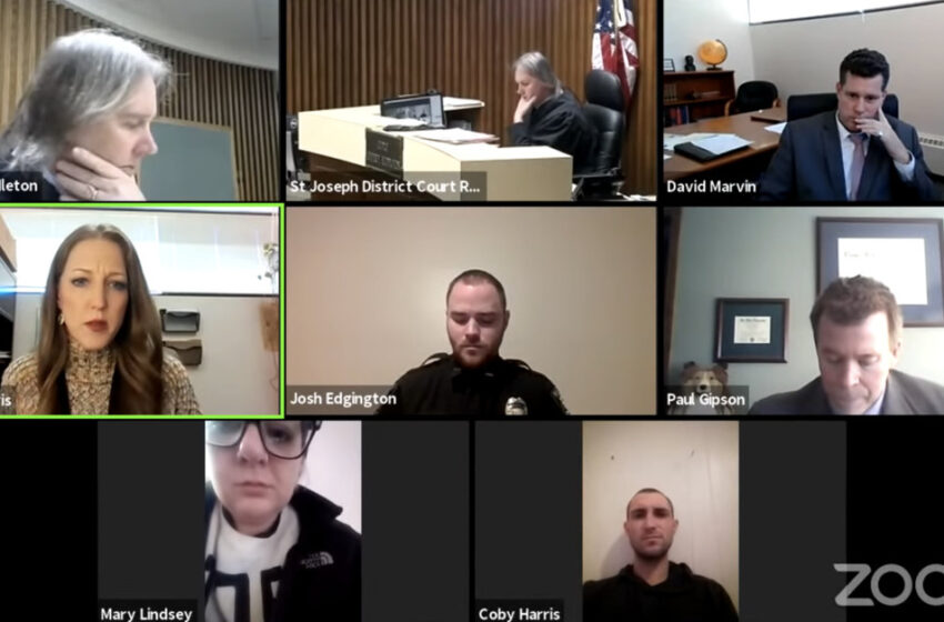 Man Rearrested After He Streams Court From Same Place As Abuse Victim, Despite No Contact Order