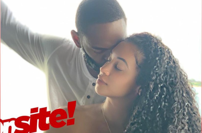 Exclusive! Darnell Nicole Gets Engaged & Married 24 Hours Later In Surprise Jamaica Yacht Wedding