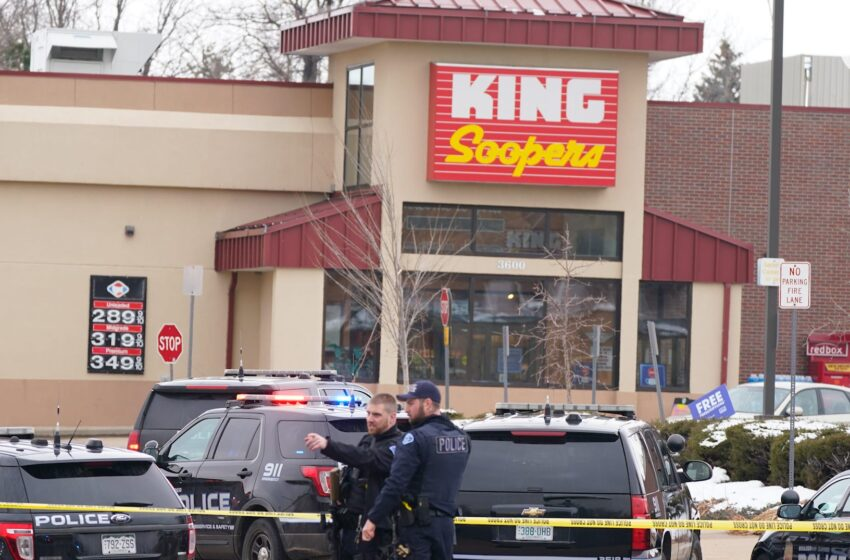 Mass Shooting At Colorado Grocery Store Leaves 10 Dead, Including Officer