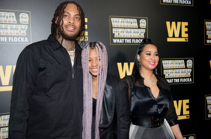 Waka Flocka Has Emotional Dance With Step-Daughter After Biological Father is A No-Show