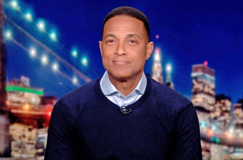 Don Lemon Announces His Departure From 'CNN Tonight' Amid New Show Opportunity
