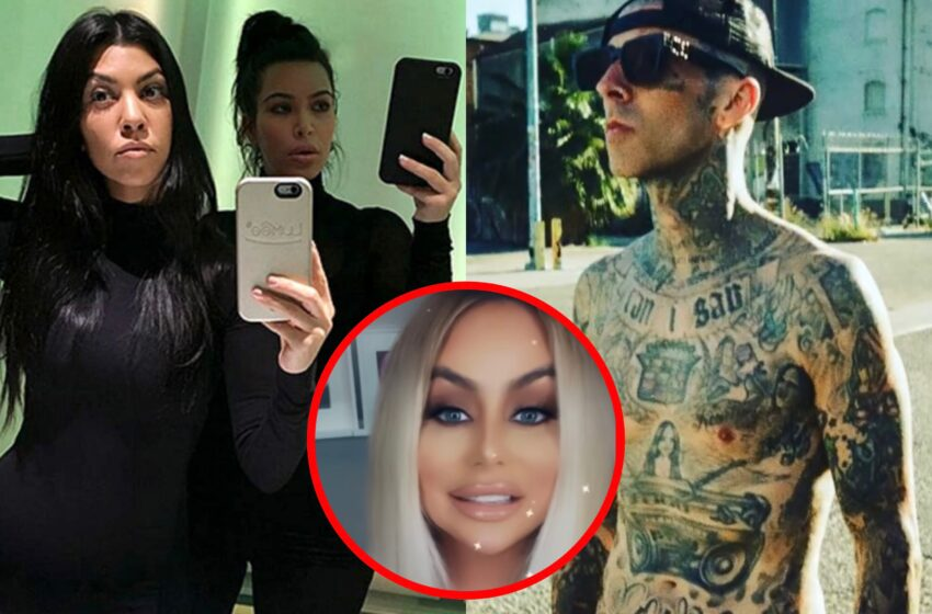 Aubrey O'Day Confirmed Kim Kardashian Hooked Up With Sister Kourtney's Man Travis Barker