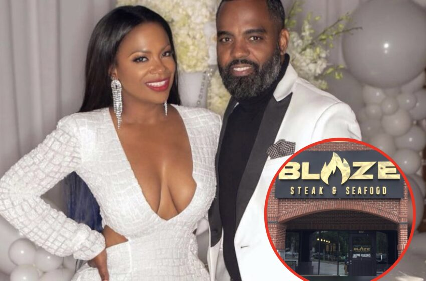 'RHOA' Star Kandi Burruss' Atlanta Restaurant Blaze Temporarily Shut Down Over Health Code Violations