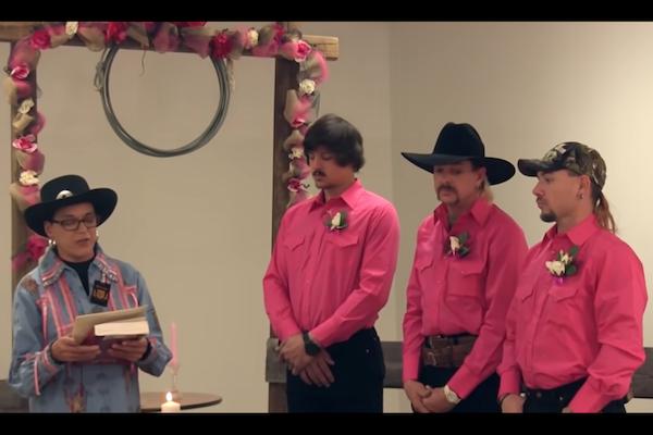 Tiger King's Gay Three-Way Wedding Was Fake, Joe Exotic's Ex-Husband Says