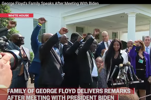 George Floyd's Family Visits White House On One-Year Anniversary Of His Death