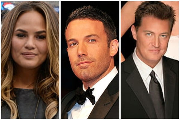 """Chrissy Teigen: Ben Affleck & Matthew Perry's Messages To Young Girls Are """"Creepy"""""""