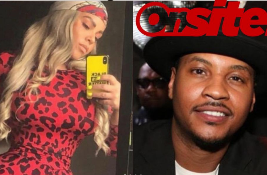 """Exclusive: Woman Claiming """"Twins"""" With Carmelo Anthony Allegedly Faked Pregnancy In Affair With Different Ball Player, Contacted Carmelo's Son In Alleged Extortion Plot"""
