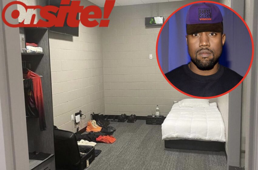 Twitter Reacts To Kanye West's Living Quarters At Mercedes-Benz Stadium