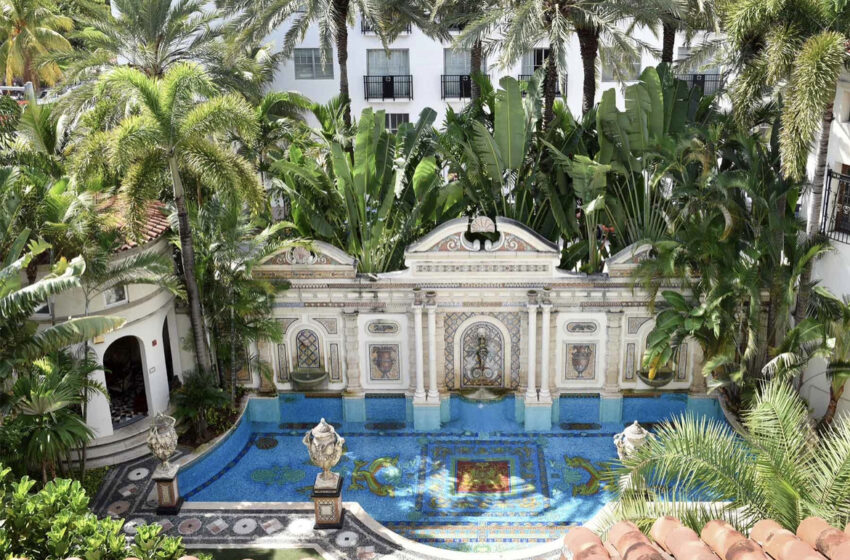 Two People Found Dead In Former Versace Mansion Day Before Designer's Death Anniversary