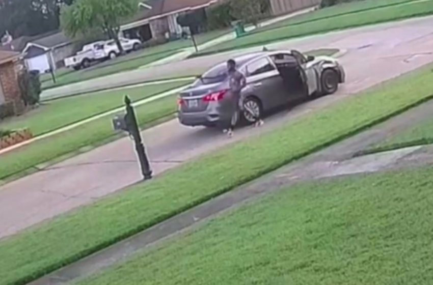 Surveillance Footage Captures A Shooting Reportedly Caused By Road-Rage