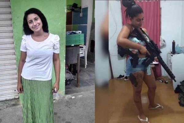 """One Of Brazil's Most Wanted Criminals, 20-Year-Old """"Hello Kitty"""" Cartel Queen, Shot Dead"""