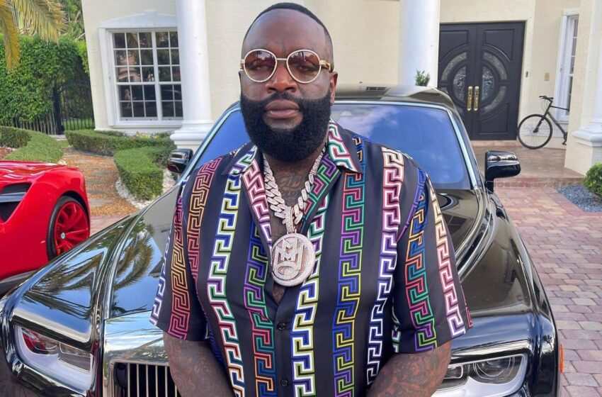 Rick Ross Says He Saves Money By Cutting His Own Grass and Flying Commercial