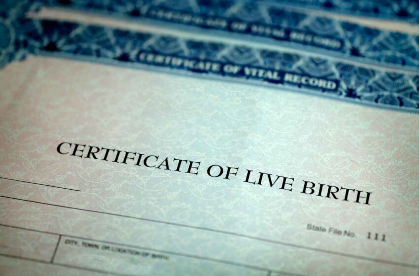 Birth Certificates May No Longer Include Section For Determining A Baby's Sex