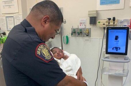 Jersey City Cop Catches One Month Old Baby That Man Threw Off Balcony