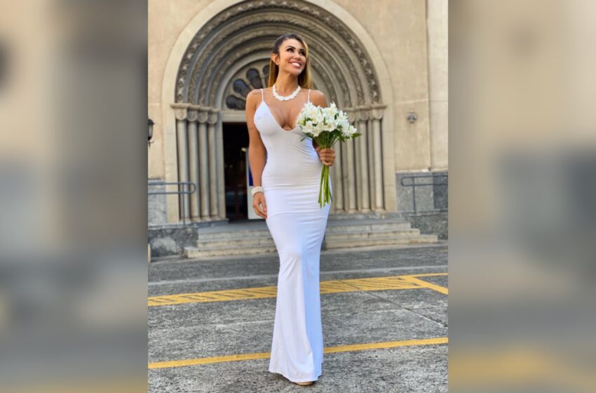 Brazil Lingerie Model And Influencer Cris Galera Marries Herself To Preach 'Self-Love'